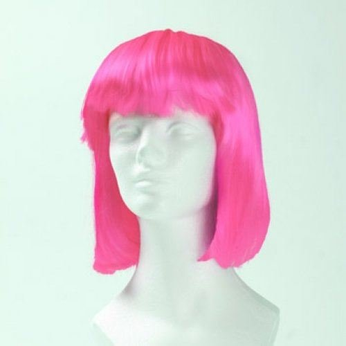 Morris Kostüm Perücken - Morris Costumes Porzellanpuppe special - hot pink