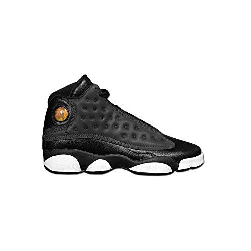 Jordan - AIR JORDAN 13 RETRO GG - Basketball - Mid Top Sneaker - Schwarz / Grau (Air Jordan 13 Xiii Retro)