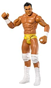 WWE - X3783 - Catch - Figurine Articulée - Série Flexforce - Alberto del Rio - Saut Perilleux