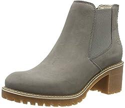 Tamaris Damen 1-1-25447-23 Chelsea Boots, Grau (Light Grey 254), 40 EU