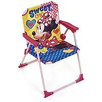 Arditex Silla Plegable para niños bajo Licencia Minnie Mouse (Metal, Dimensiones: 38x 32x 53cm, Tela, 38x 32x 53cm
