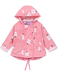 Kobay Kinderjacke Frühling Herbst Mädchen Zweireiher Strickjacke Baby Outwear Mantel