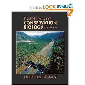 Essentials of Conservation Biology 4th (Fourth) Edition byPrimack