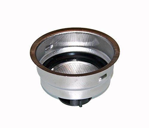 Delonghi 2 Cup Filter Assembly - For Models BAR32, EC155, EC220CD, EC270, EC330, EC460, EC702, ECO310.BK by DeLonghi