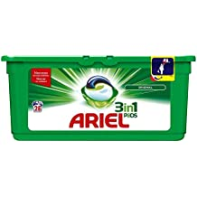 ARIEL 3 en 1 Pods Lessive Capsules 28 Lavages