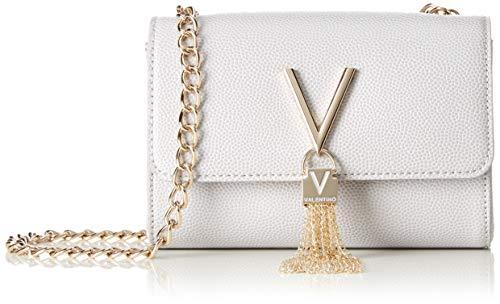 Chanel Damen Accessoires (Mario Valentino Valentino by Damen Divina Clutch, Grau (Ghiaccio) 4x11.5x17 cm)