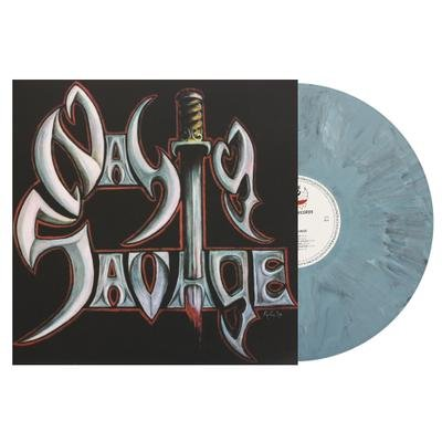NASTY SAVAGE, Nasty savage GREY MARBLED VINYL - LP