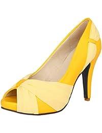 RAZAMAZA Damen Sommer Geschlossene Heels Mules Schuhe Silver Size 36 Asian