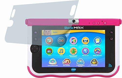 4ProTec 2X ANTIREFLEX matt Schutzfolie für Vtech Storio Max 7 Zoll Premium Displayschutzfolie Bildschirmschutzfolie Display Schutz Glas Schutzhülle Displayschutz Displayfolie Folie -