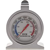 SODIAL (R) Edelstahl-Backofen-Thermometer - Hang oder stehen in Ofen