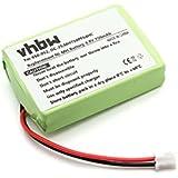 vhbw Batterie 750mAh pour transmetteur Sportdog Houndhunter SR200-I, Sporthunter 1200 SR200-I, 1800 SR200-IM, Uplandhunter SR-200IB comme DC-25.