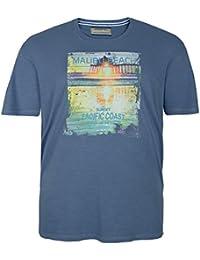 Camiseta Redfield azul con foto impresa en tallas XXL