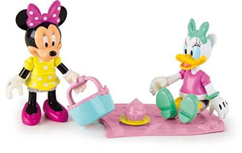 IMC Toys - Pack de 2 figurines Minnie & Daisy - Pique - Nique - 181960 - Disney