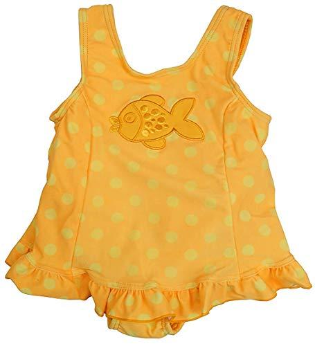 Get Wivvit Baby Mädchen Goldfisch Spot Badeanzug Kleinkind Badeanzug Größen von 3 Monate bis 1.5 Jahre - Orange, 68 (3-6 Months)