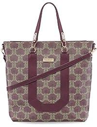c96888441d0f0 Tamaris FIORELLA Shopping Bag 2923182-544 Umhängetasche Handtasche in  Bordeaux Comb.
