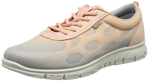 Hotter Stellar, Sneakers basses femme Orange (Peach Multi)