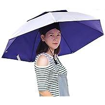 Semine Sombrero Plegable de la Pesca de la protección de la Lluvia de Sun del Sombrero