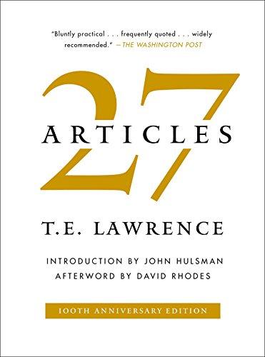 27 Articles por T. E. Lawrence