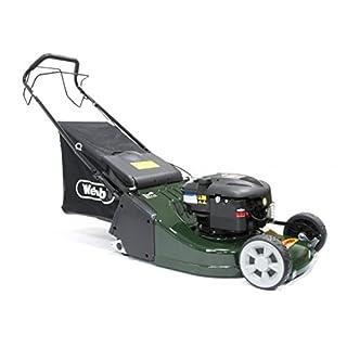 Webb WERR19SP 'Supreme' Self-Propelled Petrol Rear-Roller Lawnmower