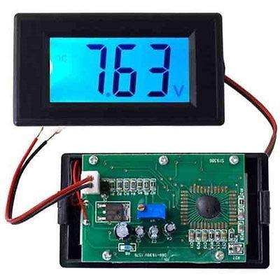 Generic Gi Voltmeter/Voltmeter/Voltmeter/Voltmeter/Vol/Panel / 20 V/M/Blau/LCD Digital Wht Lcd