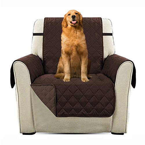Immoch Cubre para Sofá Funda Acolchada para Sofá para Mascotas Perros, Gatos Cubresofá Protector para Sofás Anti-Sucio, Anti-agarrar 53cm x 183cm