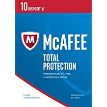 McAfee MTP Total Protection 2017 - 10 Dispositivi