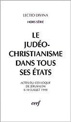 Le judéo-christianisme dans tous ses états : Actes du colloque de Jérusalem, 6-10 juillet 1998