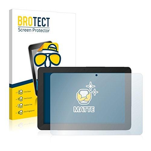 2X BROTECT Matt Bildschirmschutz Schutzfolie für TrekStor SurfTab Breeze 10.1 Quad Plus (matt - entspiegelt, Kratzfest, schmutzabweisend)
