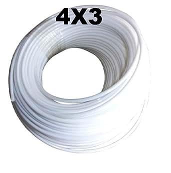 stampante 3d tef4x3 tube t flon ptfe r sistant la chaleur pour imprimante 3d 1 m ext 4 mm. Black Bedroom Furniture Sets. Home Design Ideas