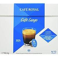 Café Royal Caffè Lungo Nouvelle Génération - 48 dosettes Compatibles avec le Système NESCAFE®* Dolce Gusto®* (Lot de 3X16)