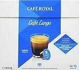 Café Royal Caffè Lungo Nouvelle Génération - 48 dosettes Compatibles avec le Système NESCAFE* Dolce Gusto* (Lot de 3X16)