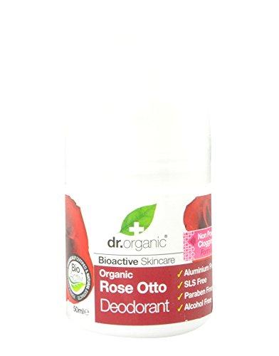Dr. Organic Rose Otto Deodorant - Deodorante 50 ml