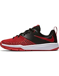 Nike Black / University Red-White, Zapatillas de Baloncesto para Niños