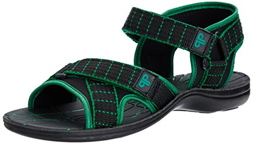 Provogue Men's Green Mesh Sandals and Floaters - 10 UK  available at amazon for Rs.399