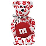 1 X TY Beanie Baby - RED the M&M's Bear (Walgreen's Exclusive) by ORIGINAL BEANIE BABIES
