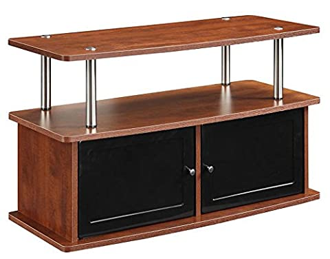 Convenience Concepts TV Stand with 2 Cabinets,