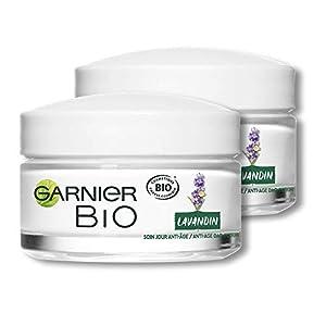Garnier, Bio cuidado día anti-age–lavandin Régénérant – 50ml, Paquete de 2