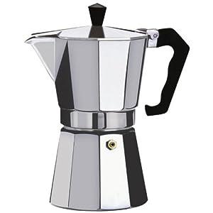 Kabalo 450ml (9-cup) Espresso Stove Top Coffee Maker - Continental Moka Percolator Pot Aluminium