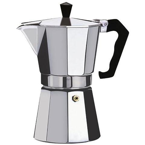 Kabalo 350ml (6 tasses) Macchinetta de cuisinière pour faire du café expresso italien - Continental Moka Percolateur Pot