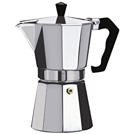 Kabalo 350ml (6-cup) Espresso Stove Top Coffee Maker – Continental Moka Percolator Pot Aluminium 41169ZAI08L