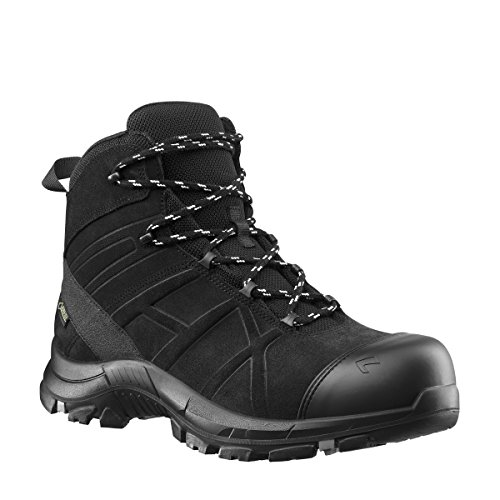 BLACK EAGLE Safety 53 mid Sicherheitsstiefel S3 wasserdicht durch GORE-TEX UK 6 / 39 (Black Engineer-stiefel)