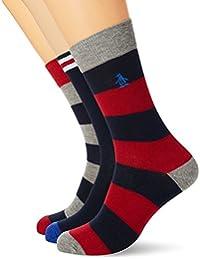 Original Penguin Mshpe1183stm, Calcetines para Hombre, Azul (Red 001), única (Talla del Fabricante: 7-11)