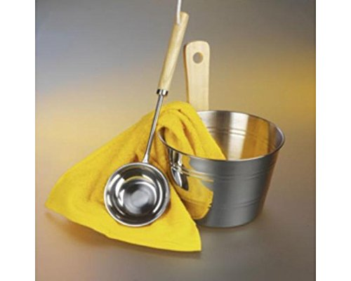 sauna-accessory-bucket-of-tea-stainless-steel-tea-pot-and-ladle-4-litres