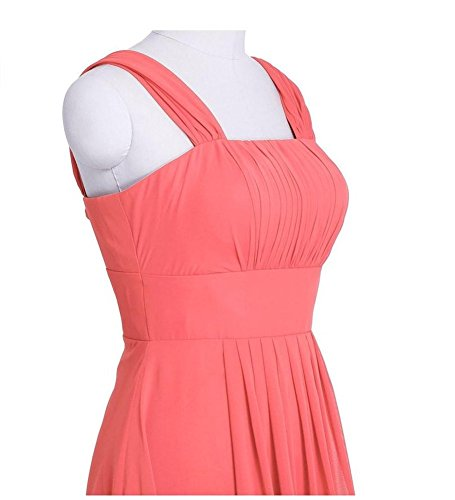 Drasawee - Robe - Taille empire - Femme Rose