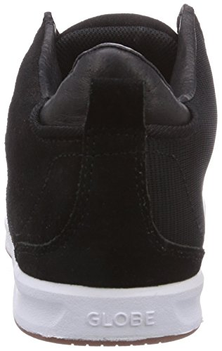 10046 Erwachsene white Abyss Unisex Schwarz black Abyss Globe Sneakers Sneakers Unisex Globe Erwachsene qPt417