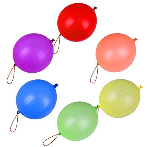 sungpunet 20Hand Pat Latex-Luftballons Punch Kinder Spielzeug für Hochzeit Party Love Ball Dekoration, sortiert Farbe