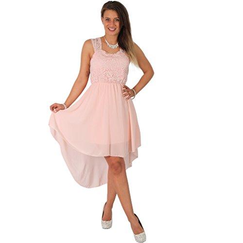 Kleidung Accessoires Damen Kleid Abendkleind Cocktailkleid Bandeau S M Elegant Romantik Lang Rosa Neu Boscoincitta