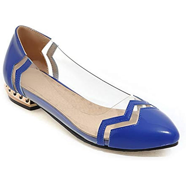 AdeeSu SDC05598,    s Compensées Femme - Bleu - Bleu, 36.5 EU - B07GDQQT1Y - 4bbd10