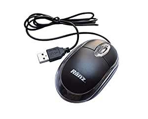 SNDIA Ranz USB Wired (Cute) Optical Mouse 1000 DPI -HI Resolution 14 inches/Sec Speed