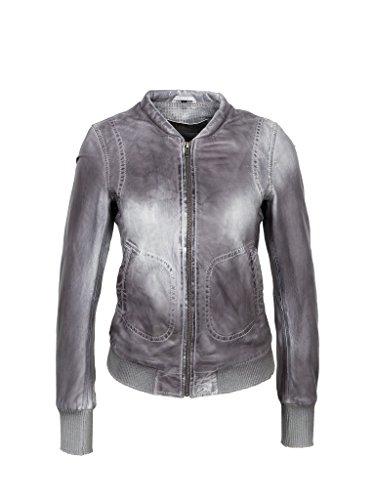 Michaelax-Fashion-Trade - Blouson - Uni - Manches Longues - Femme Anthrazit (7011)